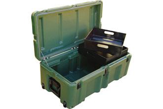472-FTLK-1 - Hardigg 472-FTLK-1 Mobile Office Footlocker