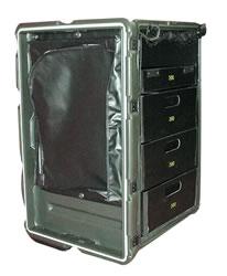 472-MED-3-DRAWER - Pelican Hardigg Mobile Medical 472-MED-3-DRAWER