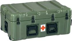 472-MEDCHEST-4 - 472-MEDCHEST3-4D Mobile Medical Supply Cabinet