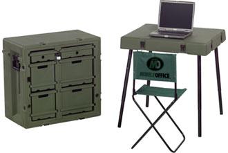 472-ADMIN-DESK - 472-ADMIN-DESK mobile office military field desk