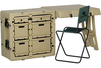 472-FLD2-DESK-TA - 472-FLD2-DESK-TA Mobile Field Desk Case