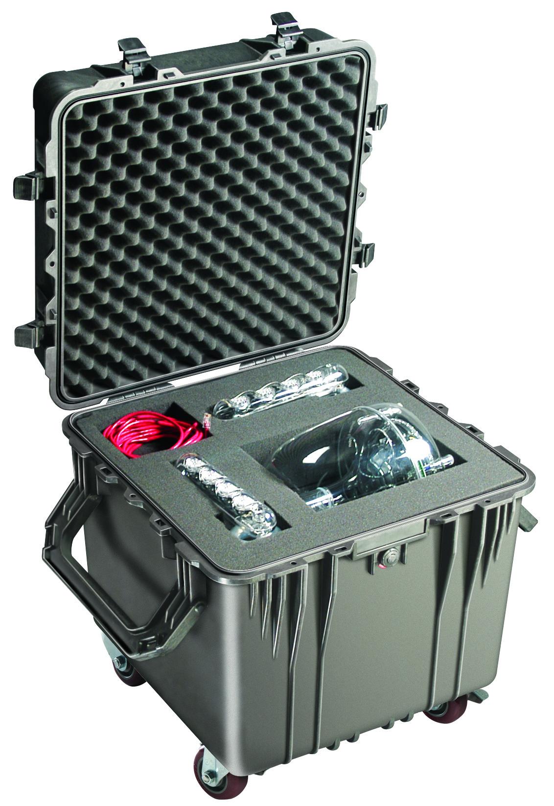 0350 - 0350 Pelican Cube Case Dry Box Custom Cut Foam