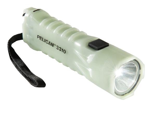 3310PL - Pelican 3310PL glow in dark led flashlight